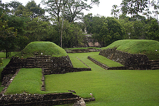 Ball court at Palenque