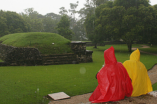 A rainy day at Palenque