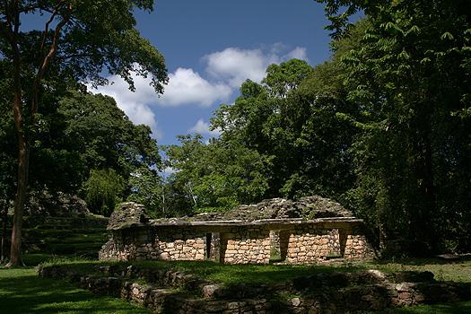 Building 16 at Yaxchilán, Chiapas